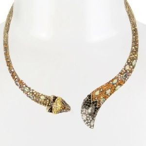 Betsey Johnson SURREAL FOREST COLLAR NECKLACE